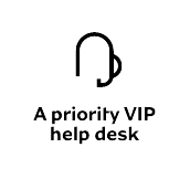 priority VIP help desk icon