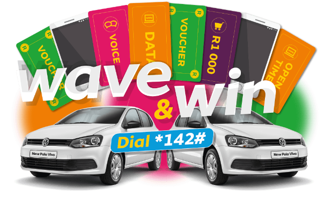 Wave & Win. Dial *142#